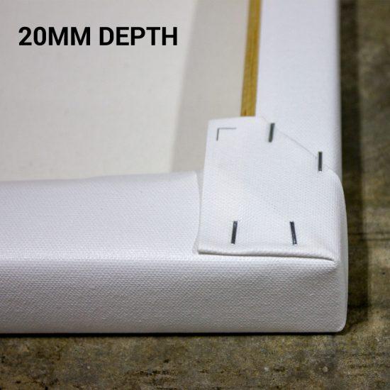 20mm deep frame